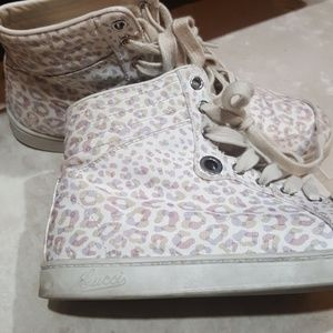 Gucci Shoes - GUCCI Soho Animal Print Sneakers - Size 38